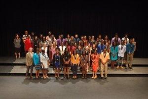Group photo of johnson scholars