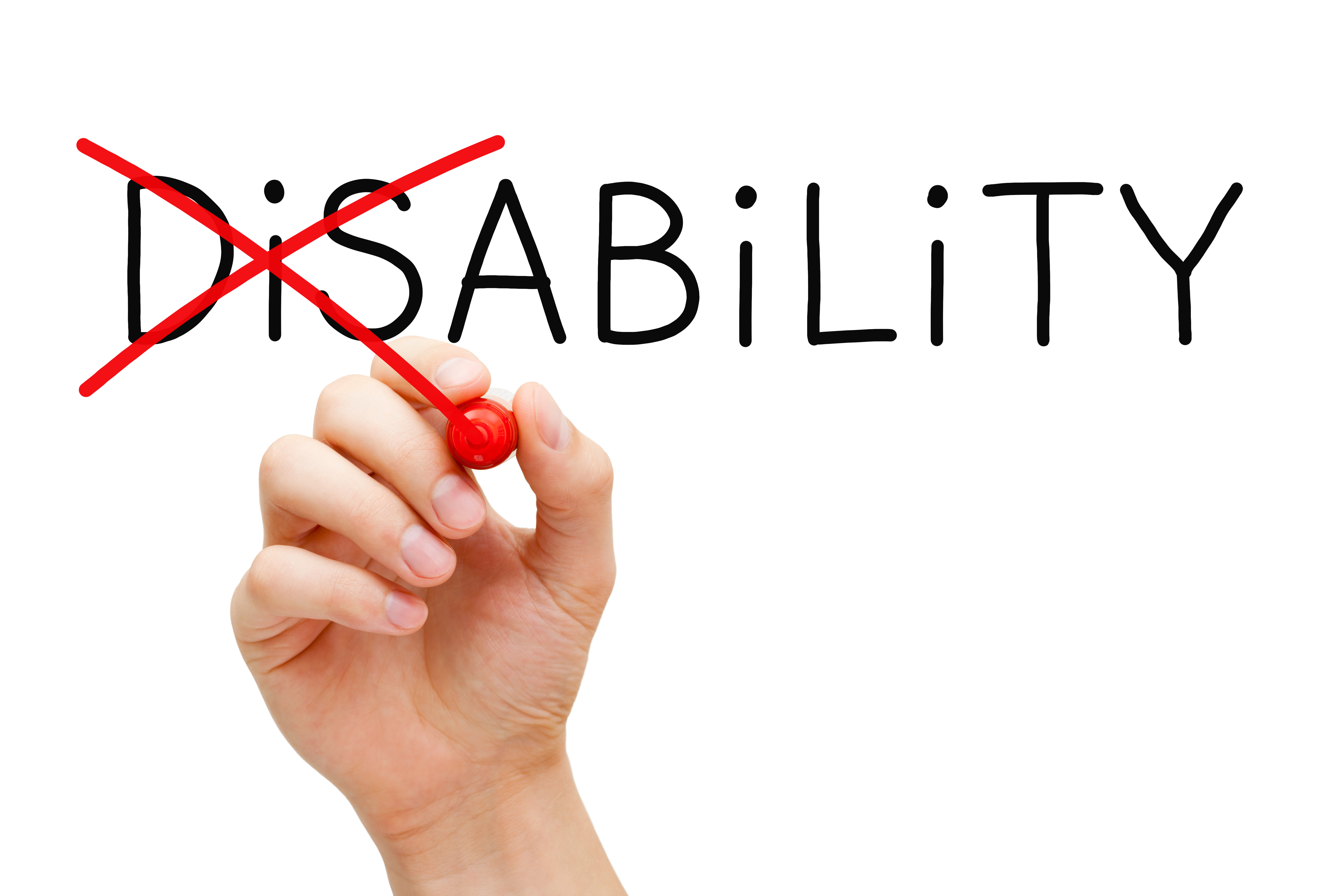 Ability Not Disability Graphic