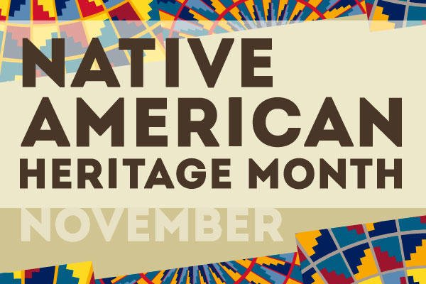 Native American Heritage Month Logo