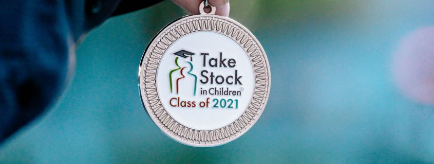 Take Stock in Children Graduation Medallion for the Class of 2021